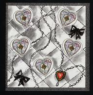 2004  Valentinstag Yt FR BF66 Mi FR 3774IKB Sn FR 2997a Sg FR MS3945 - Sheetlets