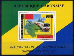 GABON - BF51** - INAUGURATION DU TRANSGABONAIS - Gabón (1960-...)