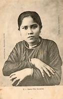 Vietnam - CPA. SAIGON - Jeune Fille Annamite -  Collection Wirth - - Vietnam