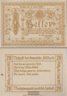 Edlbach Notgeld The Community Edlbach Uncirculated 1921 20 Bright - Austria
