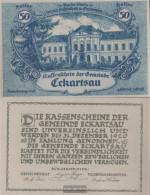 Eckartsau Notgeld The Community Eckartsau Uncirculated 1920 50 Bright - Austria