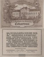 Eckartsau Notgeld The Community Eckartsau Uncirculated 1920 20 Bright - Austria