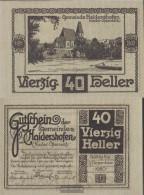 Haidershofen Notgeld The Community Haitheshofen Uncirculated 1920 40 Bright - Austria