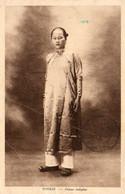 Vietnam - CPA. TONKIN - Femme Indigéne - 1934. Scan Du Verso - - Vietnam