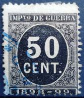 ESPAGNE                      Impots De Guerre  27                    OBLITERE - Kriegssteuermarken