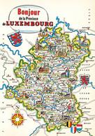 BONJOUR DE LA PROVINCE DU LUXEMBOURG  - MULTI VUES ET CARTE - Zonder Classificatie