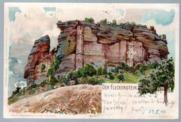 Veltens Künstler Postkarte Nr.291,Litho,France,Elsass, FLECKENSTEIN,Lembach,Hirschthal, Gelaufen 1900 - Elsass