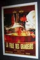 Carte Postale : Louis De Funes - La Folie Des Grandeurs (Yves Montand) (affiche Film Cinéma) Illustration : Charles Rau - Manifesti Su Carta