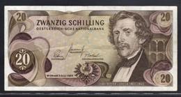 AUSTRIA   20 SCELLINI 1967  BB - Austria