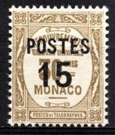 MONACO 1937 - Y.T. N° 142  - NEUF ** /1 - Unused Stamps