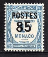 MONACO 1937 - Y.T. N° 149  - NEUF ** /2 - Unused Stamps