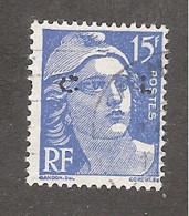 Perforé/perfin/lochung France No 886 CL Crédit Lyonnais (188) - Perforadas