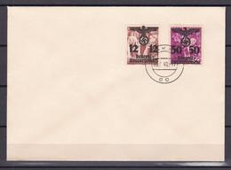 Generalgouvernement - 1940 - Michel Nr. 33 + 24 Auf Brief - Gestempelt - Bezetting 1938-45