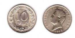 El Salvador - 10 Centavos 1985 XF+ Lemberg-Zp - El Salvador