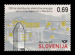 Slovenia 2020 Mih. 1442 Alternating Current Electricity Supply In Maribor MNH ** - Slovenië