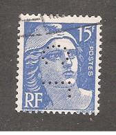Perforé/perfin/lochung France No 886 CL Crédit Lyonnais (208) - Perforadas