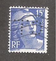 Perforé/perfin/lochung France No 886 C.L Crédit Lyonnais (230) - Perforadas