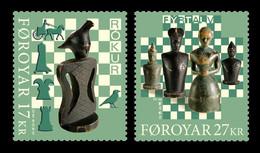 Faroe Islands 2020 Mih. 989/90 Faroese Chess Tradition MNH ** - Faroe Islands