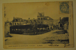 14 Calvados Saint Martin De Bienfaite Le Bourg ( Coins Bords Uses ) - Sonstige Gemeinden