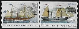 """GRECIA /GREECE /GRIECHENLAND / HELLAS - EUROPA 2020 - """"ANCIENT POSTAL ROUTES"""" - SET From BOOKLET- N - 2020"""