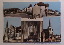 BARON  60  Multivues Avec 5 Photos Du Village 1970 - Frankreich