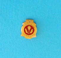 AS NANCY LORRAINE - France Football Club Old Pin Badge * Soccer Fussball Calcio Foot Futbol Futebol FC - Calcio