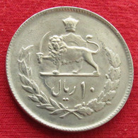 Iran 10 Rials 1976 / 2535 KM# 1208 Lt 556  Irão Persia Persien Perse Rial - Irán