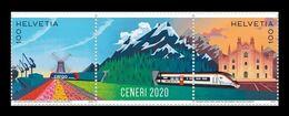 Switzerland 2020 Mih. 2670/71 Ceneri Railway Base Tunnel MNH ** - Nuovi