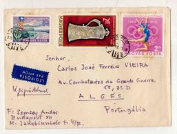 Cx15 56) Hongrie Hungary Magyar Posta 1970 Semsey Andor > Portugal Portugália Olimpiai Balaton - Hungary