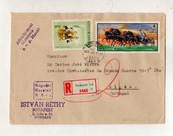 Cx15 58) Hongrie Hungary Magyar Posta 1969   Istvan Rethy > Portugal Portugália - Hungary