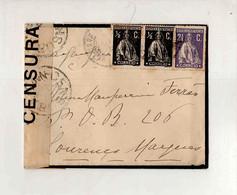 Cx15 63) Portugal Ceres $05 1/2c CENSURA Esposa Governador De Moçambique C.1917 - Ohne Zuordnung
