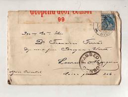 Cx15 71) NETHERLANDS 1916> Governador De Moçambique Opened Censor 99 Censor 1916 - Period 1891-1948 (Wilhelmina)
