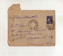 Cx15 114) Portugal Ceres 2,5c 1918 > Governador De Moçambique Lourenço Marques CENSURA Nº 1 - Mosambik