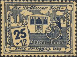 Cottbus 11w Unmounted Mint / Never Hinged 1945 The Cottbusser Postkutscher - Zona Soviética