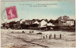 5THO 546 CPA - ILE D'OLERON - SAINT TROJAN LES BAINS - LES VILLES DE LA PLAGE - Ile D'Oléron