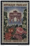 N° 1189 - X X - ( F 426 ) - ( Floralie Parisiennes 1959 ) - Frankreich