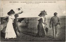 CPA St-BRIEUC - BUSSON En Tenue D'Aviateur (119303) - Saint-Brieuc