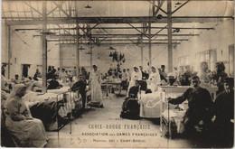 CPA St-BRIEUC - Croix Rouge Francaise A. Des Dames Fr Hopital 201 (119315) - Saint-Brieuc