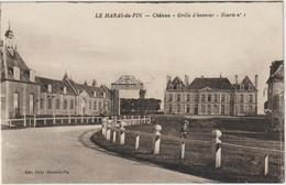 Le Haras-du-Pin-Château  Grille D'honneur --(D.9355) - Autres Communes