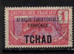 TCHAD          N°  YVERT  :   19     OBLITERE       ( Ob   9/19  ) - Used Stamps