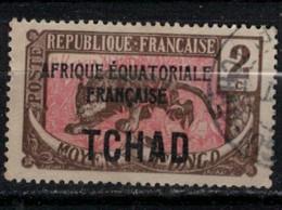 TCHAD          N°  YVERT  :   20  ( 1 )  OBLITERE       ( Ob   9/19  ) - Used Stamps