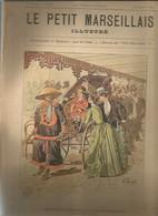 CC /  Revue LE PETIT MARSEILLAIS 1889 @@ En Couverture POUSSE-POUSSE CHINOIS Exposition Universelle Chine - Periódicos
