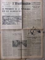 Journal L'Humanité (16 Janvier 1947) Président De La République - Mandataires Des Halles - Franco Assassine - Periódicos