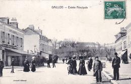 27 - Eure - GAILLON - Entrée Principale - Hotel D Evreux - Francia