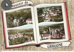 64 - Carte Postale Semi Moderne Dentelée De  URRUGNE    Multi Vues - Urrugne