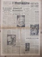 Journal L'Humanité (5-6 Janvier 1947) Complot Mandataires - Gouffre Du Glaz - Palestine - Reconversion Arsenaux - Periódicos