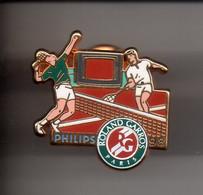 REF Y3 : Pin's Pin Arthus Bertrand Philips Roland Garros 98 - Tennis