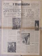 Journal L'Humanité (4 Janvier 1947) Prix Abusifs - Un Ex-PPF - Ho Chi Minh - Hôpitaux Parisiens - Periódicos