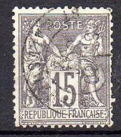 FRANCE ( TYPE SAGE ) : SPINK/MAURY 2019 , N°  66  N/B  TIMBRE  BIEN  OBLITERE , A  SAISIR . LOS - 1876-1878 Sage (Tipo I)