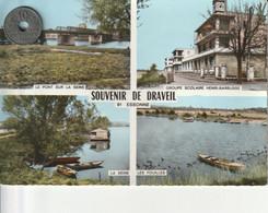 91 - Carte Postale Semi Moderne Dentelée De SOUVENIR DE DRAVEIL   Multi Vues - Draveil